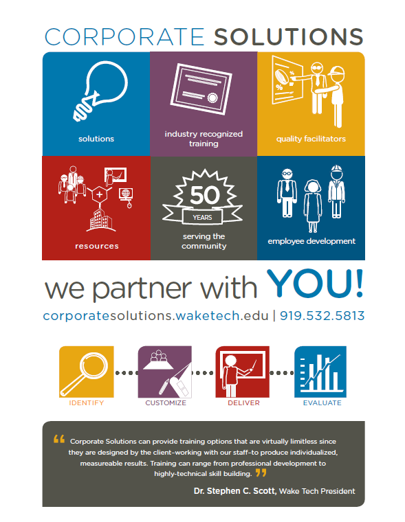 Corporate Solutions Flyers