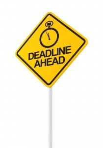 Deadline Ahead